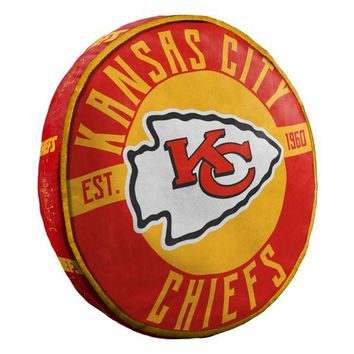 "Kansas City Chiefs NFL 15"" Cloud Pillow"