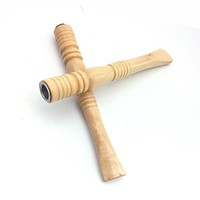 1 Pcs Wood Solid Wood Pipe Smoking Pipes Tobacco Pipes Weed Smoke Mouthpiece Cigarette Holder