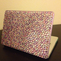 Pastel color MacBook Pro 13in case by entrepreNORA on Etsy
