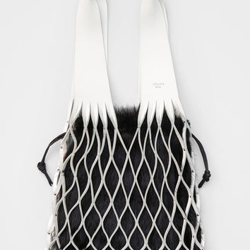 Medium Net Bag Bag in Calfskin
