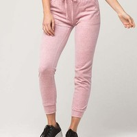 FULL TILT Velour Womens Jogger Pants | Pants + Joggers