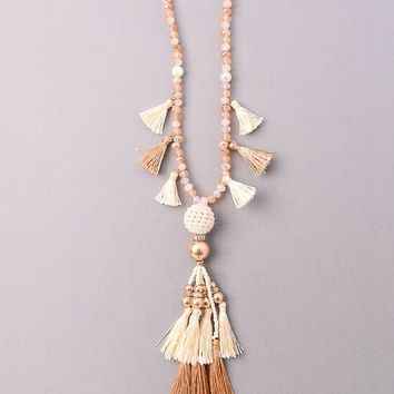 Vintage Snoot Sasha Necklace in Ivory