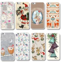 Christmas Cover For iPhone Santa Claus Case 5S/6