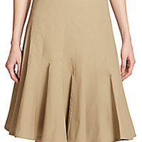 Marc by Marc Jacobs - Pleated Poplin Skirt - Saks Fifth Avenue Mobile
