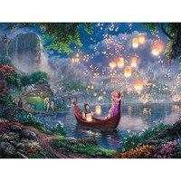 Thomas Kinkade Disney Collection Rapunzel Jigsaw Puzzle - Puzzle Haven