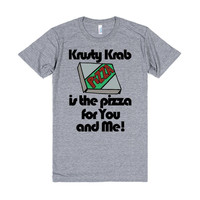 Krust Krab Pizza is the pizza for you and me