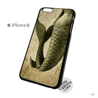 Mermaid Phone Case For Apple,  iPhone 4, 4S, 5, 5S, 5C, 6, 6 +, iPod, 4 / 5, iPad 3 / 4 / 5, Samsung, Galaxy, S3, S4, S5, S6, Note, HTC, HTC One, HTC One X, BlackBerry, Z10
