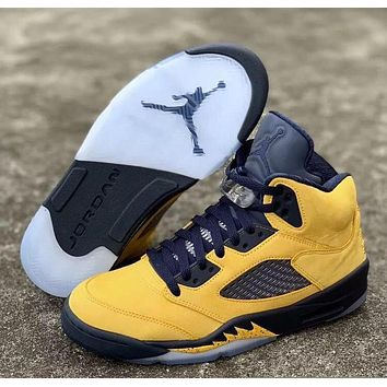Air Jordan 5 SP Michigan Sneaker Size 40-47