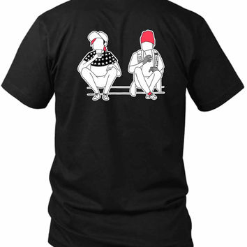 Twenty One Pilots Stressed Out Tyler And Josh 2 Sided Black Mens T Shirt