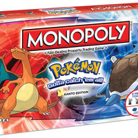 MONOPOLY: Pokemon Kanto Edition (New)