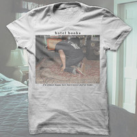Hotel Books 'Live Photo' T-Shirt