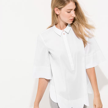 Women's Scalloped Blouse | Page Blouse | Kit and Ace