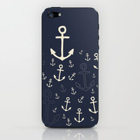 Drag Me Down iPhone & iPod Skin by Sara Eshak | Society6