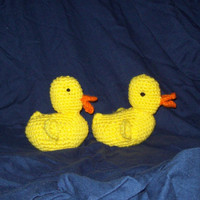Crochet Rubber Ducky