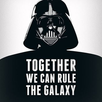 Valentines Day For Him Star Wars Print Darth Vader Print Star Wars Poster  Movie Poster Star