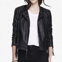 (MINUS THE) LEATHER FRINGE JACKET from EXPRESS