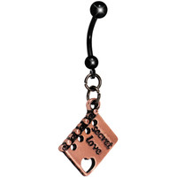 Book of Love Belly Ring | Body Candy Body Jewelry