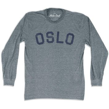 Oslo City Vintage Long Sleeve T-shirt