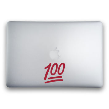 100 Emoji Sticker for MacBooks and Apple Devices