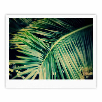 """Angie Turner """"Palm Frond"""" Green Nature Fine Art Gallery Print"""