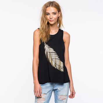 Gold Feather Tank