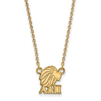 14K Plated Silver Alpha Delta Pi XS Necklace
