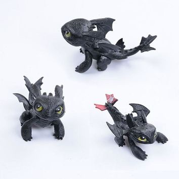 How to Train Your Dragon Toothless Action figure Toyless Toothless Toys For Children's Birthday Gifts G0168