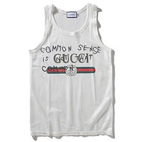 Gucci  Women or Men Fashion Casual  Vest Tank Top