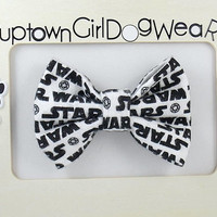 FAST SHIPPING!! Dog Bow Tie Star Wars Bow Tie Bowties Bow Tie for Dog Star Wars Dog Bow Tie