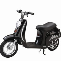 Razor Black Vintage 24v Electric Scooter - £339.95 : Kids Electric Cars, Little Cars for Little People