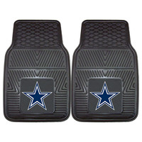 Dallas Cowboys NFL Heavy Duty 2-Piece Vinyl Car Mats (18x27)