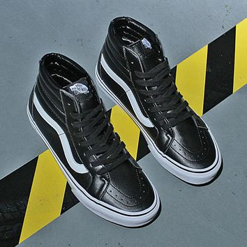 Vans SK8 HI New Pattern Old Skool Flats Sneakers Sport Shoes