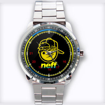 Neff Custom Stainless Steel Watch