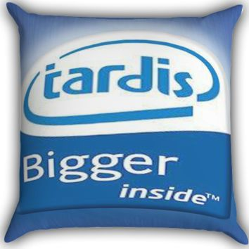 tardis inside Zippered Pillows  Covers 16x16, 18x18, 20x20 Inches