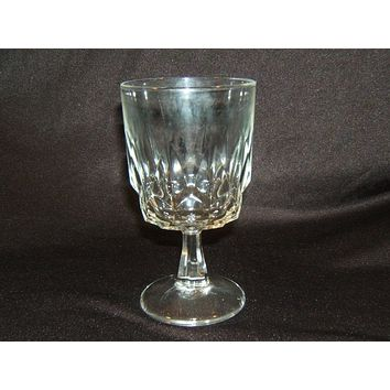 Designer Stemware Water or All Purpose Glass 6-in Tall x 3 1/4-in Crystal -- Used