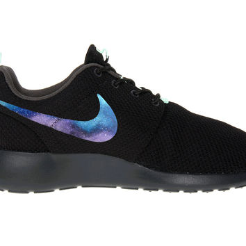 Roshe Galaxy Custom Made to Order Mens and Womens Nike Rosherun Shoes Hand Painted