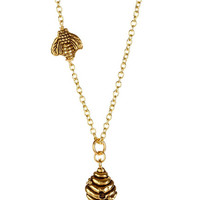 On HauteLook: LEILA | Bee & Hive Necklace - Gift With Purchase