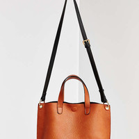 Mini Reversible Vegan Leather Tote Bag | Urban Outfitters