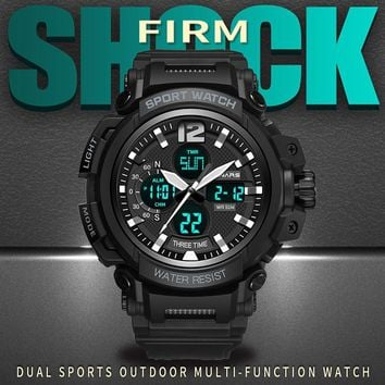 G Sports Watches Men Shock Waterproof Digital Wrist Watches Male Clock Watch For Men LED Electronic Wristwatches Outdoor Running