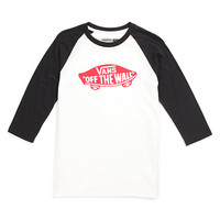 Boys OTW Raglan T-Shirt | Shop Boys Shirts at Vans