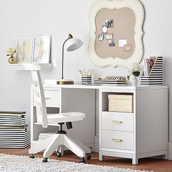 Rowan Cubby & Drawer Storage Desk