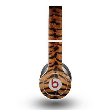 The Real Tiger Print Texture Skin for the Beats by Dre Original Solo-Solo HD Headphones