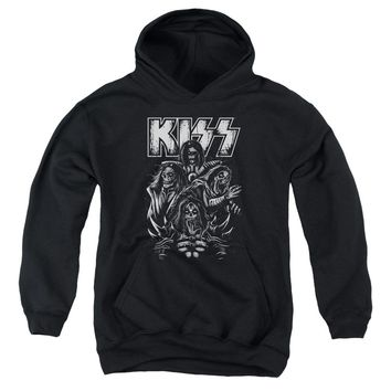 Kiss - Skull Youth Pull Over Hoodie
