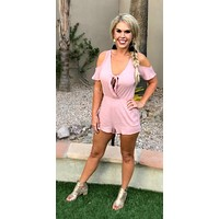 Surely Summer Rose Romper