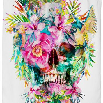 ROSC Skull - Momento Mori Shower Curtain