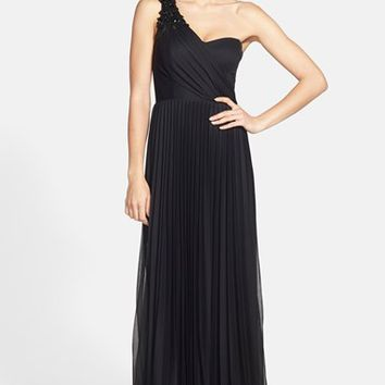 Women's Xscape Embellished One-Shoulder