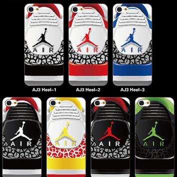 Air Jordan 3 (heel) phone case