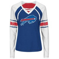 Majestic Buffalo Bills X Marks It Tee - Women's, Size: