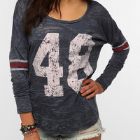 Urban Outfitters - Project Social T Lucky Numbers Long-Sleeved Tee