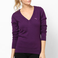 Purple Cotton Sweater